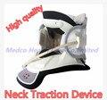 Frete grátis Melhor dispositivo de terapia de tração cervical tração Cervical médica tratamento pescoço neck brace suporte alívio da dor no pescoço