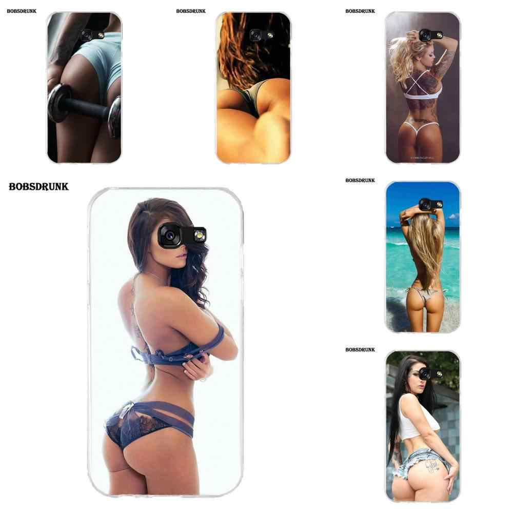 EJGROUP Sexy Girl Ass For Samsung Galaxy A3 A5 A7 J1 J2 J3 J5 J7 2015 2016 2017 Soft Mobile Phone Case Cover