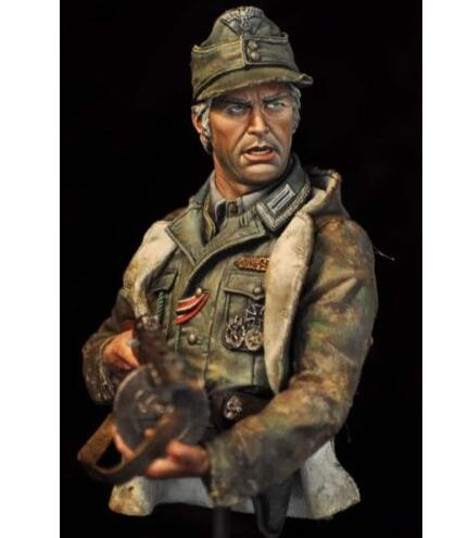 1/10 Steiner German Soldier bust toy Resin Model Miniature Kit unassembly Unpainted wwii hms surprise captain jack resin soldier bust model resin bust master and commander