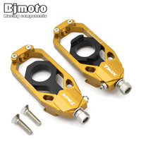 Motorcycle T Max CNC Chain Adjusters Tensioners Catena For Yamaha TMAX 530 2013 2014 2015
