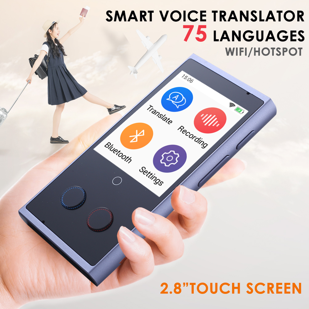 BIG SALE] Portable Smart Voice Translator 3 in 1 voice Text
