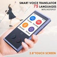 Translaty Voice Instant Translator 75 Smart Portable English Language Intelligent Voice Translators Simultaneous Machine Device