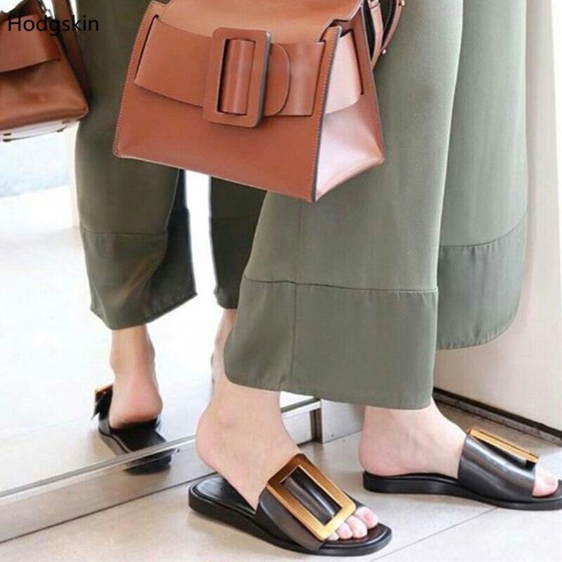 Gladiateur as Véritable Sandales Détouré Pic Plage As Femmes Or 2018 Brun Chaussures Pantoufle Mujer Pic En Boucles Sandalias Noir Glisser Cuir Hvw6xwq1