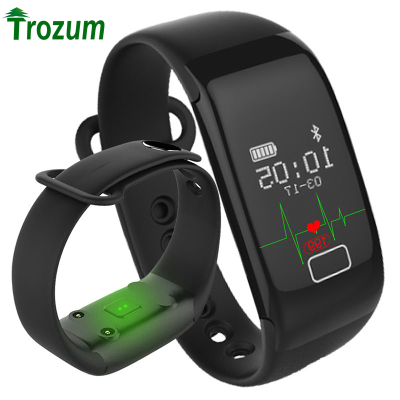 TROZUM K18S smart bracelet with Blood O2 wristband Heart Rate Fitness Tracker Monitor Bluetooth Watch For