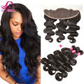 13*4 Ear To Ear Silk Base Frontal Closure With Bundles Unprocessed Peruvian Body Wave Queen Hair Products With Frontal Bundle