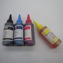 4 Color 100ml Dye Ink For HP 920 BK/C/M/Y Refill for Officejet 6000 6500 7000 7500 7500a E790 Printer