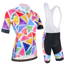 BXIO Women Cycling Clothing Breathable Summer Cycling Jersey Mountian MTB Bike Sets Bicycle Clothes Quick-Dry Ropa Ciclismo 181 цены