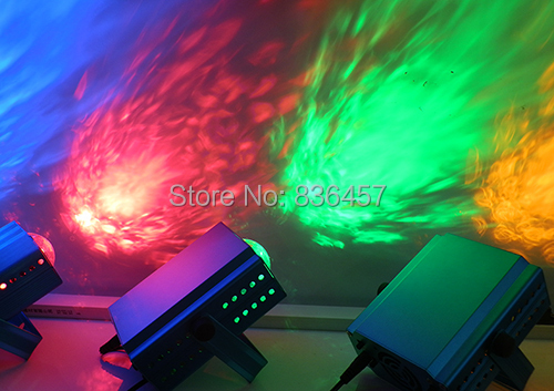 Hot Sell Mini Laser Projector R&G DJ Disco Light Stage Stage Lights Led Water Water Effect Light  Free Shipping