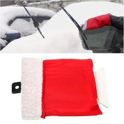 Скребок для льда автомобильный снег лопатой автомобиля тематические товары про рептилий и земноводных удаление скребка перчатки Чистый