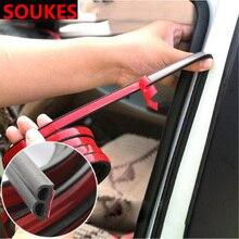 цена на 200cm Rubber Car Door Edge Trim Sealing Strip Sticker For Volkswagen VW Polo Passat B5 B6 CC Golf 4 5 6 7 Touran T5 Tiguan Bora