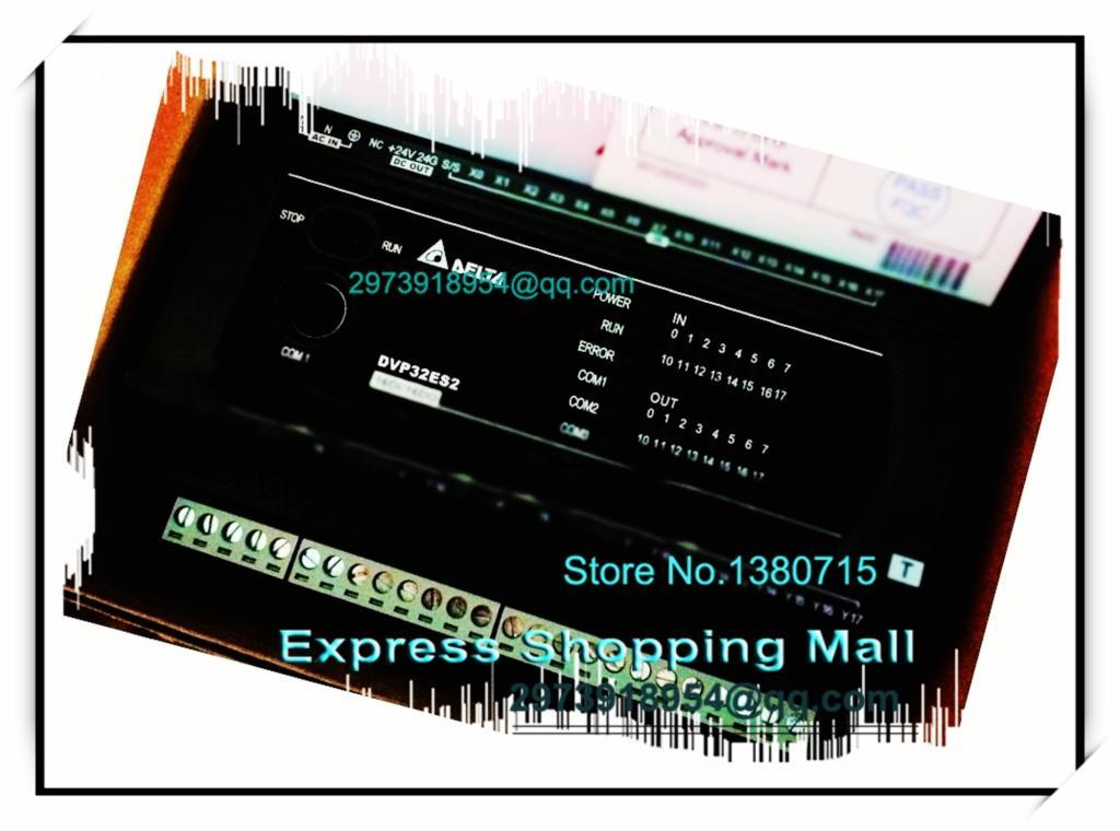 New Original DVP32ES200TC Delta PLC ES2 series 100-240VAC 16DI 16DO Transistor output dvp32es00t2 delta plc 100 240vac 16di 16do transistor output new original