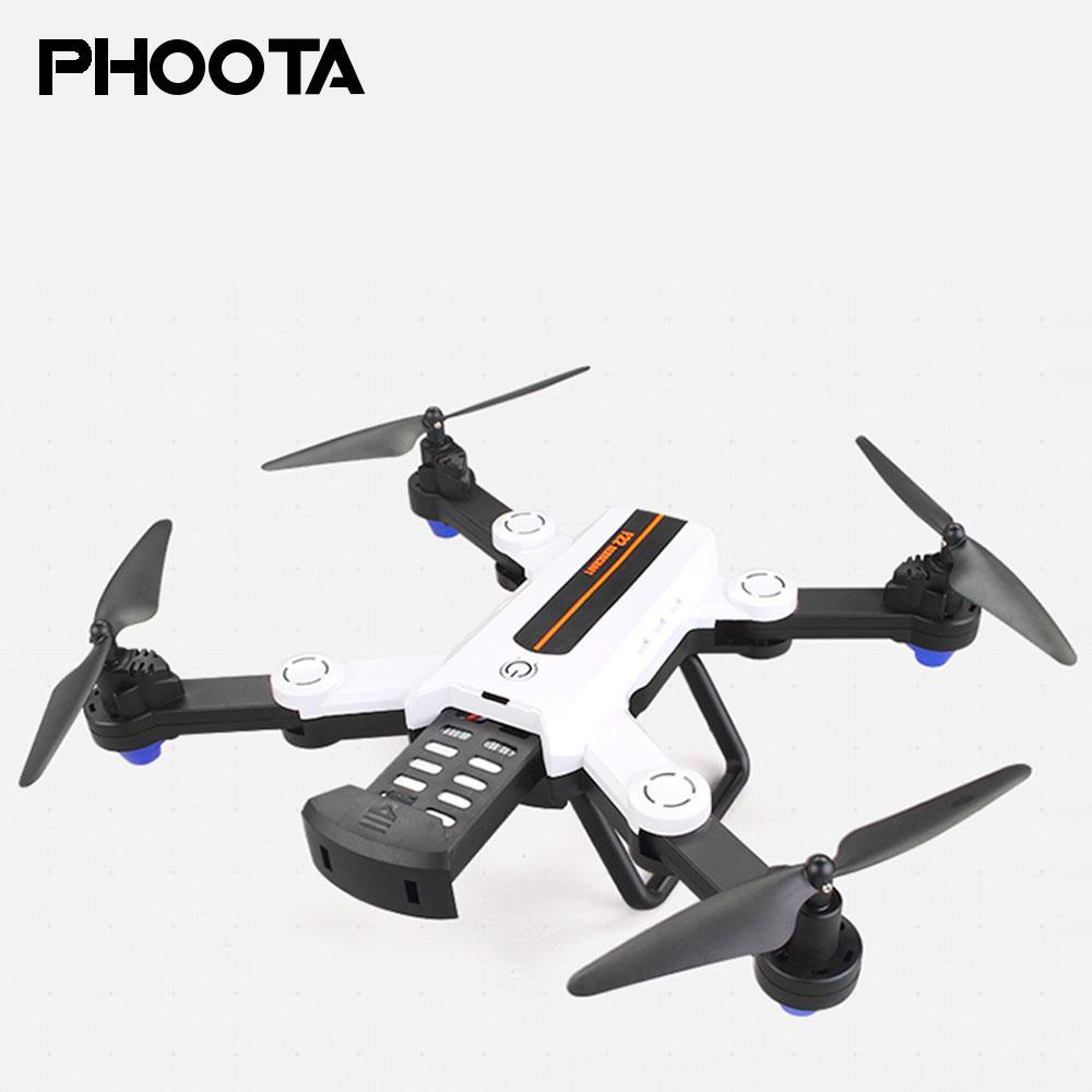 Phoota Aircraft Programmable Optical Flow Sensor 720p Speed Adjustable Altitude Hold High Performance Intelligent Drone intelligent sensor aircraft toy