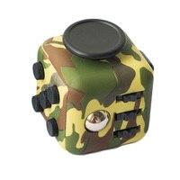 כפתורי סיליקון באיכות הסוואה לקשקש קוביית צעצוע לחץ אנטי לקשקש להקל על לחץ חדש