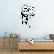 Black & White Naruto's Home Wall Decal / Vinyl Sticker