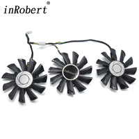 3Pcs Lot 87mm PLD09210S12HH DC 12V 0 40A Cooling Fan Replace For MSI GeForce GTX 1070