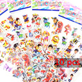 10 pçs/lote Patrulla Canina Do Cão Cão Cão de Patrulha 3D Etiquetas Dos Desenhos Animados Para Crianças Presente Para O Aniversário do Partido Favor brinquedos para crianças