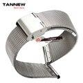 Finos homens de aço inoxidável relógios 20 MM 18 MM relógio de pulseira acessórios pulseira de metal mulheres 10 MM 12 MM 14 MM 16 MM 22 MM cor de aço