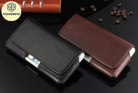 4 7inch Universal Belt Clip Holster Leather Case For Lenovo S820 S660 S668t S650 A3800D A588t