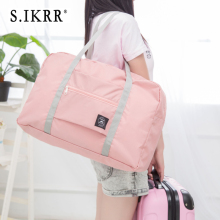 S. IKRR нейлоновая Водонепроницаемая Дорожная сумка унисекс складная дорожная сумка органайзеры большая емкость упаковочные кубики портативные большие багажные сумки