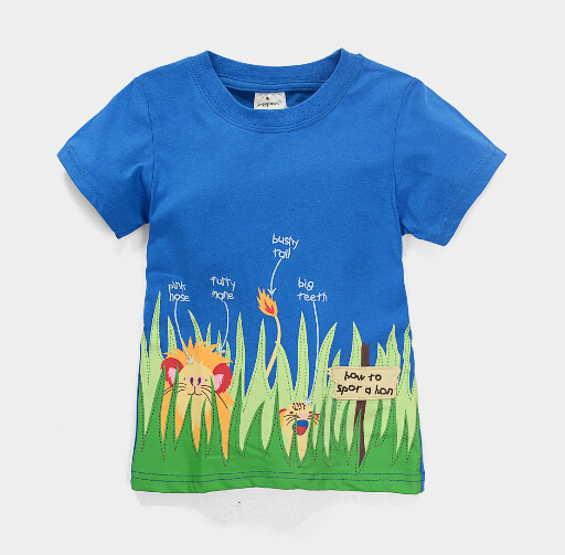 HTB1eErqjRfH8KJjy1Xbq6zLdXXae - brand 2018 new fashion kids clothing 100%cotton blouse childrens clothes baby boy t shirts boy's top tee cartoon car Dinosaur