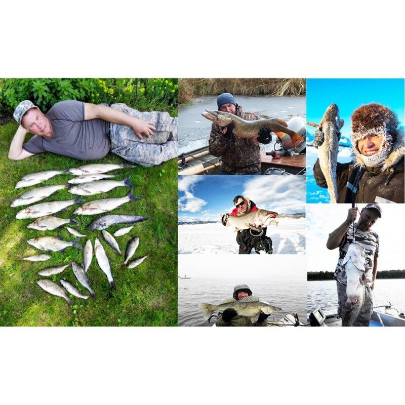 Offre spéciale Alarme 100 M Portable Sonar LCD Sans Fil Fish Finder leurre De Pêche Sondeur De Pêche Finder sondeur Anglais - 6
