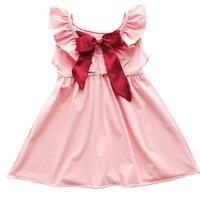 2019 Summer Girls Nightgowns Thin 100% Cotton Pajamas for Baby Princess nightdress Style Cute sleepwear High Quality 3y 10y