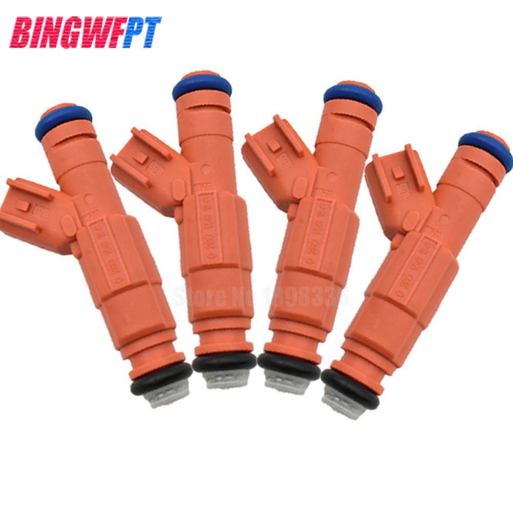 цена на 4pcs/lot NEW Fuel injector Nozzle 0280156156 For Ford Focus 1.8 3M4G-BA 02-07 For MAZDA 6 2.3L For VOLVO