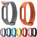 Novo xiaomi mi banda 2 alça de pulso banda miband 2 pulseira de silicone pulseira pulseira de substituição inteligente acessórios reemplazo pulsera