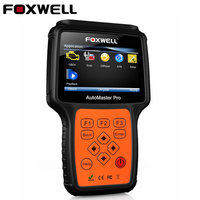 100 Original Foxwell NT624 AutoMaster Pro All Makes All Systems Scanner Engine Transmission ABS Airbag Diagnostic