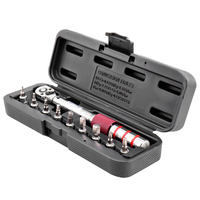 1/4 DR 2 15Nm Mini Adjustable Bike Torque Wrench Set Bicycle Repair Tools Kit Ratchet Mechanical Torque Spanner Manual Wrench