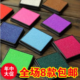 9385 candy color small fresh multicolour inkpad yinyou stamp finger painting stationery skone relogio 9385