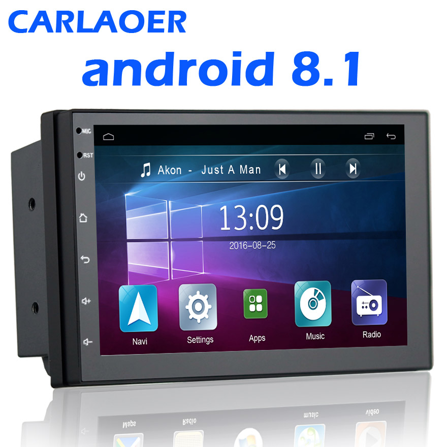 2 din Android 7 0 Car DVD player GPS Wifi Bluetooth Radio Quad Core 7 inch