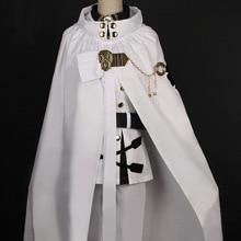 Seraph Of The End Cosplay Japanese Anime Owari no Seraph Mikaela Hyakuya Cosplay Costume with Wig Full Set