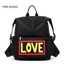 c272242454 Pink Sugao backpack purse women and men waterproof Oxford fashion backpacks  school bags designer backpack shouler