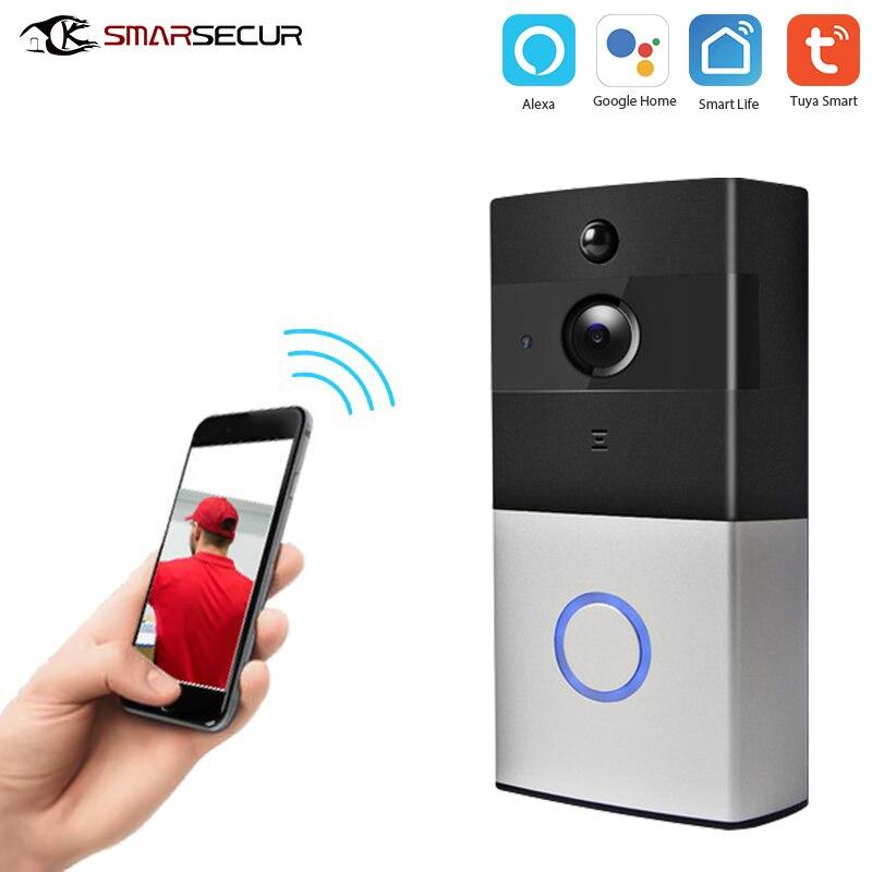 Tuya IP Video Intercom WI-FI Video Door Phone Door Bell WIFI Doorbell Camera For Apartments IR Alarm Wireless Security Camera