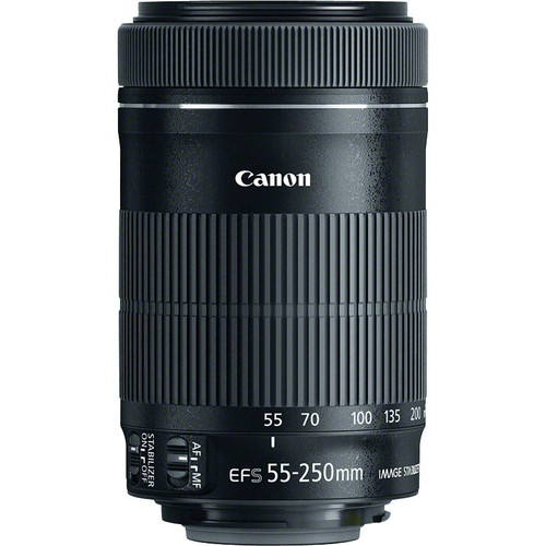 Canon EF S 55 250mm f 4 5 6 IS STM Lens for Canon 600D 700D