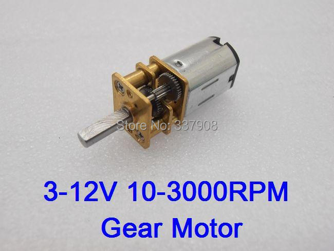4pcs N20 DC 3-12V 10-3000RPM Gear Motor of Miniature Low-speed DC Motor Metal Gear Box Gearwheel Model 10mm Shaft Diameter чайник marta mt 3043 шоколад