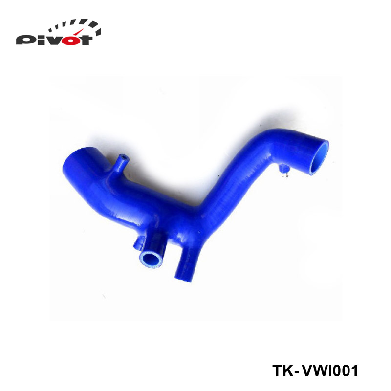 Silicone Intercooler Turbo Boost Induction Intake Hose Kit For VW Golf MK4 1.8T / Bora 1.8T /Bettle 1.8T (1pc) TK-VWI001