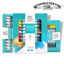 Winsor& Newton акриловых красок комплект 12/18/24 Цвета 10 мл ручная роспись стены рисунок красящий пигмент набор «сделай сам» не исчезает