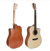 Finlay 41 Acoustic Guitar,Cutaway Spruce Top/Mahogany Body guitarra,Constellation Pickguard,FD-115C,Big sale takamine p3dc dreadnought cutaway