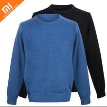 Original xiaomi mijia básico dos homens em torno do pescoço suéter de cashmere com capuz 100% dos homens da caxemira camisola suéter de cashmere
