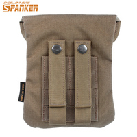 Spanker Tactical Molle Utility Emergency Medical Bag Pouch Military First Aid Kit Outdoor EDC Bags Tool