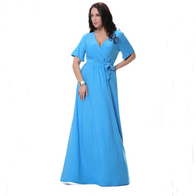 b2f9956b3d 2016 Nuevo estilo vestido de verano señoras moda ocio de gama alta  temperamento largo vestido Maxi Vestido de playa de verano