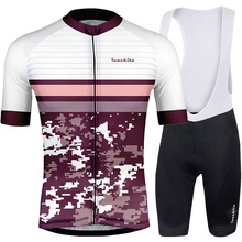 RUNCHITA 2019 Summer Bike Team Cycling Jersey Set Men Short Mountain Clothing Ropa Ciclismo Quick Dry Road Bicycle Wear