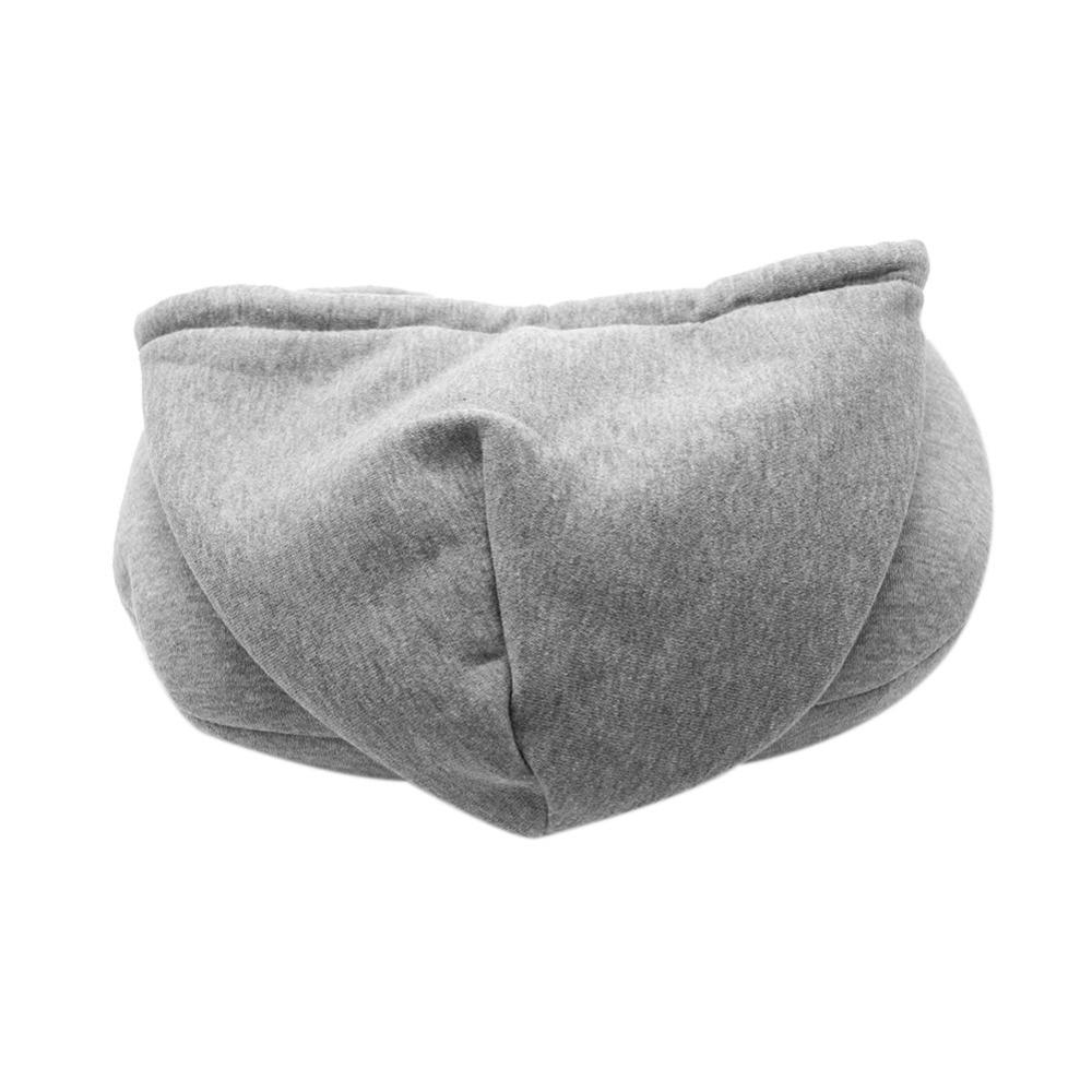 Soft Hooded Travel Neck Pillow