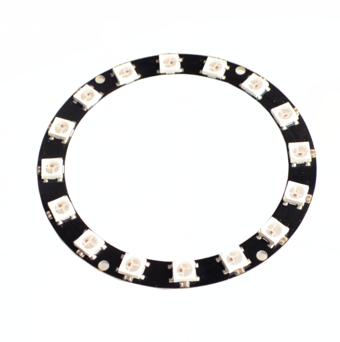 Precise 5pcs/lot 16 Bits 16 X Ws2812 5050 Rgb Led Ring Lamp Light With Integrated Drivers Integrated Circuits