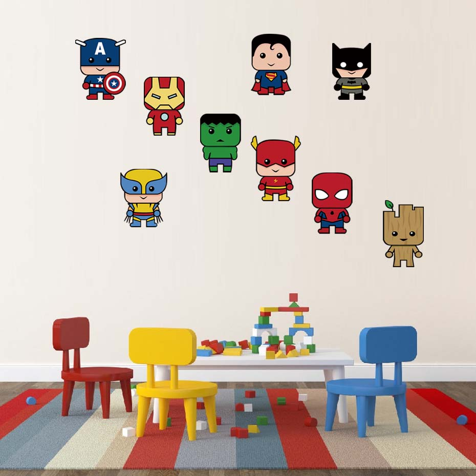 Decals, Stickers & Vinyl Art Wall Décor Brave New Super Mario Kids Removable Wall Decal-32 Stickers Great For Kids Or Nursery