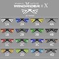 16 Colores Quad Línea Cometa Del Truco 4 Línea de Cometas de Actuación Al Aire Libre Playa de Kite Kite Con 2 Unids Manijas de Control líneas