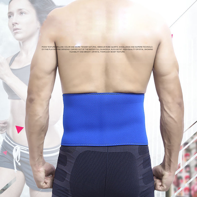 Men Waist Support Belt Lumbar Brace Breathable Protection Back Absorb Sweat Fitness Sport Protective Gear 4