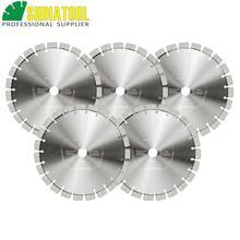 цена на SHDIATOOL 5pcs Dia 230mm/9 Inch Laser Welded Arrayed Diamond Blade Cutting Disc Saw blades Reinforced Concrete Diamond Wheel